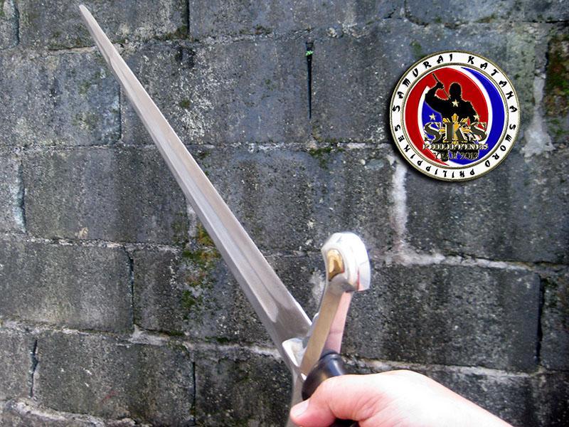 Maritoni Carillo's Custom Made Anduril Long Sword